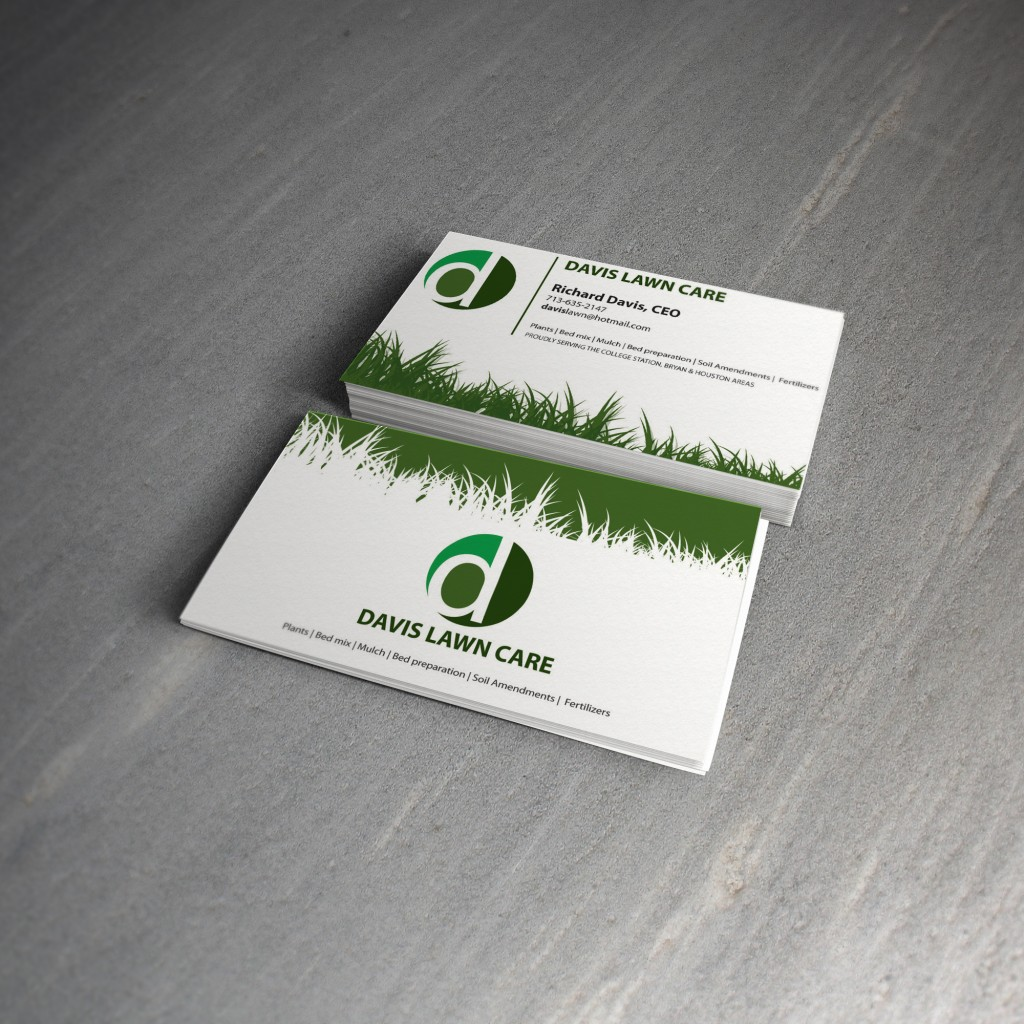 Lawn Care Business Cards Viewing Gallery